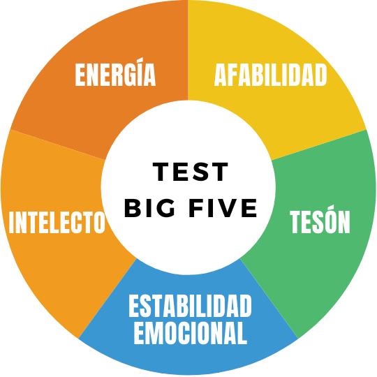 test big five dimensiones